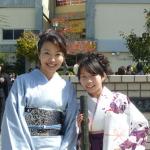 お子様の入学式・卒業式のお母様の着物